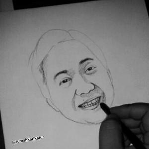 Tutorial melukis wajah dengan pensil