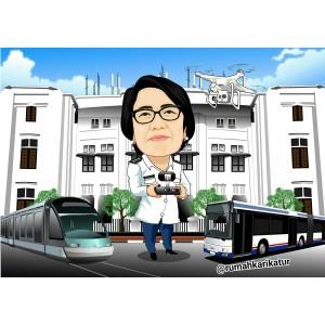 Karikatur Kementerian Perhubungan